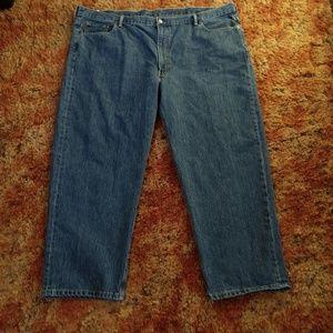 "52"" Waist 52x29 Mens Levi's 550 Denim Jeans"